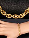 Pentru femei Ochiul Dracului Set bijuterii Include Brățară Coliere - Vintage Draguț Petrecere Birou Casual Modă Lanț Placat Auriu Aliaj