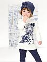 Fata lui Vara Micro-elastic Mediu Mânecă scurtă Seturi de îmbrăcăminte (Amestecuri Bumbac)