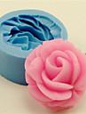bakeware silicon au crescut forme pentru copt pentru tort fondantă bomboane de ciocolata (culori aleatorii)