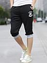 Albastru / pantaloni de trening gri / negru pentru bărbați, Casual / sport