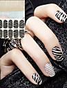 2 pcs 3D наклейки на ногти маникюр Маникюр педикюр Абстракция / Свадьба / Мода Повседневные / 3D-стикеры для ногтей