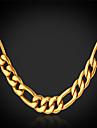 Dame Lănțișoare Placat Auriu Umplute cu Aur La modă costum de bijuterii Bijuterii Pentru Nuntă Petrecere Ocazie specială Zi de Naștere