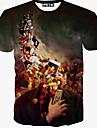 Bărbați Tricou Clasic & Fără Vârstă-Multicolor Stil Vintage