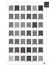 42 mönster nail art stämpel stämpling plåt image mall