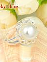 Inele Afirmatoare Perle La modă Bijuterii Petrecere 1 buc