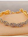 Pentru femei Transparent - Lanț Brățări Bijuterii Auriu / Argintiu Pentru Nuntă Petrecere Ocazie specială Aniversare Zi de Naștere Logodnă / Cadou / Zilnic / Casual