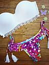 Pentru femei Bikini - Stil Artistic Imprimeu, Tipar