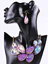 Pentru femei Seturi de bijuterii Piete Prețioase & Cristal Zirconiu Cubic Aliaj Vintage Petrecere Birou Casual Bijuterii Statement Modă