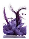 Șifon / Cristal / Imitație de Perle Diademe / Palarioare / Flori 1 Nuntă / Ocazie specială / Party / Seara Diadema / Palarie / Dantelă / Material Textil