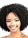 Syntetické paruky Kudrny Styl Bez krytky Paruka Černá Černá Umělé vlasy Dámské Afroamerická paruka Černá Paruka Krátký StrongBeauty Přírodní paruka