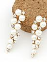 Dame Cercei Picătură costum de bijuterii Perle Imitație de Perle Ștras Diamante Artificiale Aliaj Bijuterii Pentru