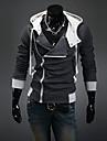 Bărbați hanorac Jacheta Plus Size Simplu Sport Casul/Zilnic Mată Bumbac Poliester Inelastic Manșon Lung Toamnă Iarnă Primăvara