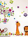 Animale / Botanic / Romantic / Natură moartă / Modă / Florale / Fantezie Perete Postituri Autocolante perete planeAutocolante de Perete