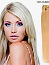 18 tums 7st / set 70g clip-in hår människohår förlängningar 27 färger för kvinnor skönhet