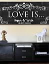 Cadoul de pânză personalizat e-home® - dragostea este ceremonia de nuntă