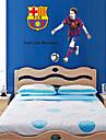väggdekorationer Väggdekaler, stil Barcelona Messi pvc väggdekorationer