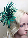 Feather Fascinators / Flowers with 1 Wedding / Special Occasion Headpiece
