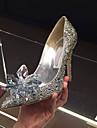 Pantofi pentru femei - Sintetic - Toc Stiletto - Tocuri - Pantofi cu Toc - Birou & Carieră / Rochie / Party & Seară - Argintiu