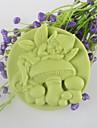 spirit ciupercă săpun în formă de mucegai Mooncake silicon de ciocolată tort mucegai mucegai fondant, instrumente de decor bakeware