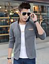 Bărbați Mărime Plus Size hanorac Jacheta Mată