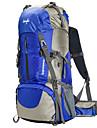 60 L Ryggsäck Backpacker-ryggsäckar Camping Klättring Vattentät Regnsäker Bärbar Multifunktionell Nylon Nät Terylen