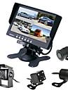 renepai® 7 pouces 4 en 1 moniteur HD + bus 170 ° hd arriere de voiture camera  etanche longueur de cable 6m, 10m, 16m, 20m,