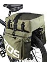 ROSWHEEL 35 L Sac de Porte-Bagage / Double Sacoche de Velo Etanche, Ajustable Sac de Velo faux cuir / 600D Polyester Sac de Cyclisme