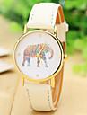 femei de moda ceas curea din piele de elefant ceas pentru femei rochie ceasuri ceasuri cuarț