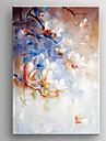 pictura ulei de floarea impresie alb manual panza pictat cu întinsă încadrată gata să stea