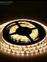 SENCART Flexibla LED-ljusslingor 300 lysdioder Varmvit Vit Grön Gul Blå Röd Fjärrkontroll Klippbar Bimbar Vattentät Självhäftande Lämplig