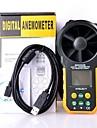 multifuncțional ms6252b digitale anemometru / volum de aer hyelec / tem / umiditate