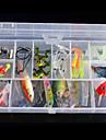 45 pcs Iscas Vairao Plastico Duro Pesca de Mar Isco de Arremesso Pesca de Isco e Barco Pesca Geral Pesca de Isco Pesca de Carpa