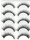 Silmäripsi Tekoripset 10 pcs Suurennettu Kuitu Päivittäin Paksu Luonnollisen pitkät - Meikki Arkipäivän meikki kosmeettinen Hoitotarvikkeet