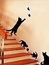 Autocolante de Perete Decorative - Animal Stickers de perete Animale / Natură moartă / Romantic Sufragerie / Dormitor / Cameră de studiu