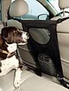 Hund Bilsätesskydd Husdjur Transportörer Vikbar Solid Svart