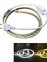 Jiawen impermeabil 13W 850lm 60x5050 SMD LED-uri benzi de lumină flexibil (1m lungime / 220v)