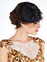 Femei Pană Net Diadema-Nuntă Ocazie specială Exterior Flori Pălării/Căciuli