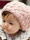 Fete Băieți Căciuli & Băști - Iarnă Nailon Altele Îmbrăcăminte tricotată Cordeluțe - Negru Bej Maro Rosu Roz