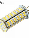 YWXLIGHT® 5pcs 5W 450-500 lm G4 Becuri LED Bi-pin MR11 126 led-uri SMD 3014 Decorativ Alb Cald Alb Rece DC 24V AC 24V AC 12V DC 12V