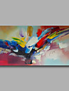Oil Painting Hand Painted - Abstract Modern Canvas