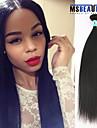 Human Hår vävar Malaysiskt hår Ret 1 st. hår väver