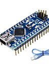 nano v3.0 ATMEGA328P för Arduino (fungerar med officiella Arduino styrelser)