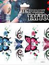 1 Glitter Ogiftig Mönster Ländrygg Vattentät Jul Annat Tatueringsklistermärken