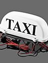iztoss taxi top vattentät lampmagnetic bil fordonsindikatorlampor med 2 lampor som backup