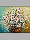HANDMÅLAD Stilleben Horisontell, Parfymerad Duk Hang målad oljemålning Hem-dekoration En panel