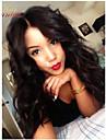 Äkta hår Peruk Kroppsvågor 120% 130% Densitet 100 % handbundet Afro-amerikansk peruk Naturlig hårlinje Korta Mellan Lång Dam Äkta peruker