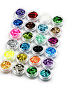 24pcs Nail Jewelry Sequins Decoration Kits Fashion Lovely High Quality Daily