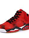 Erkek Ayakkabı Suni Deri Sonbahar / Kış Rahat Atletik Ayakkabılar Basketbol Atletik / Günlük / Dış mekan için Bağcıklı Siyah / Kırmzı / Mavi