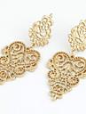 Pentru femei Cristal Perle Imitație de Perle Ștras Cercei Picătură - Modă European Auriu cercei Pentru