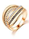 Pentru femei Verighete Design Unic La modă costum de bijuterii Zirconiu Bijuterii Bijuterii Pentru Nuntă Petrecere Zilnic Casual